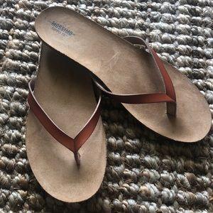 Mossimo cognac sandals